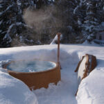 Softub in Snow